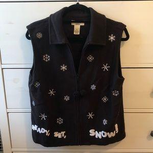 Snowflake Vest